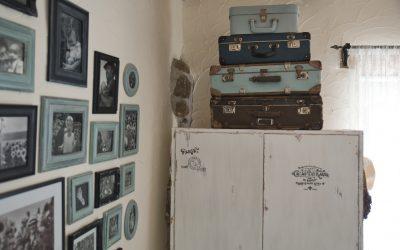 Premena starej skrine na provensálsku