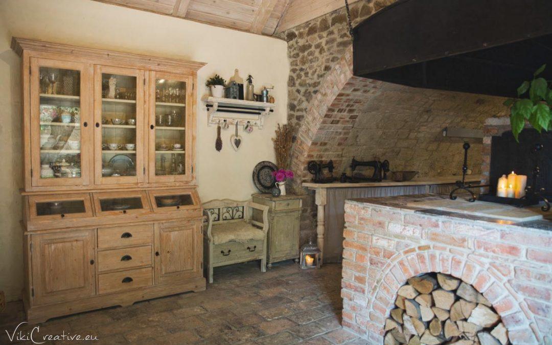 Renovácia poličky a nový kútik v obývačke