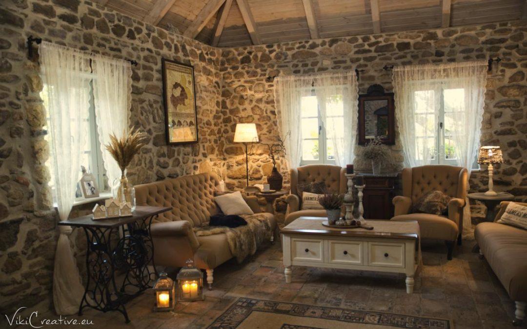 Jesenný interiér